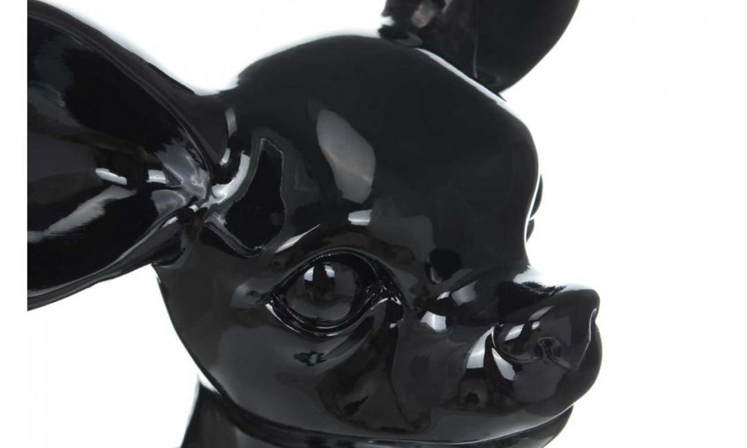 Купить СКУЛЬПТУРА CHIHUAHUA K120 280x440x400 BLACK  ARHOME
