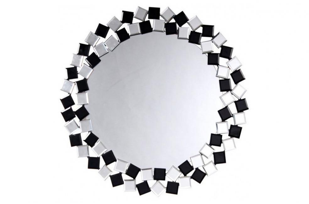 ЗЕРКАЛО LAGUNA S1825 800x16 SILVER/BLACK ARHOME